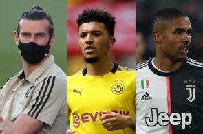 Gareth Bale, Jadon Sancho, Douglas Costa