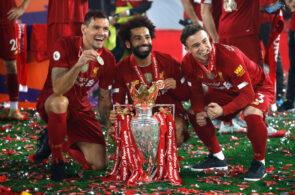 Dejan Lovren, Mohamed Salah, Xherdan Shaqiri - Liverpool