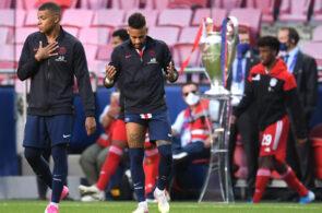 Neymar, Kylian Mbappe, PSG, Champions League