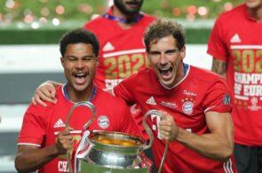 Serge Gnabry, Bayern Munich, Champions League