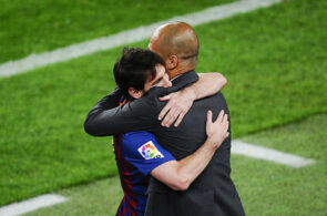 Lionel Messi, Pep Guardiola, Manchester City