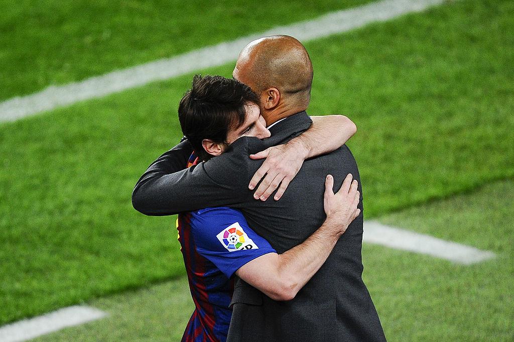 Lionel Messi, Pep Guardiola, Manchester City