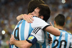 Higuain, Messi