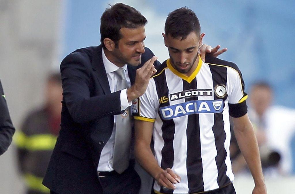 Bruno Fernandes, Andrea Stramaccioni, Udinese