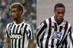 Kingsley Coman, Thierry Henry, Juventus