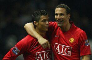 Cristiano Ronaldo, Rio Ferdinand, Manchester United