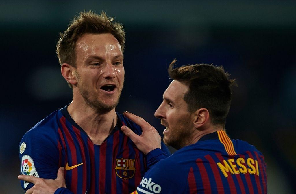 Ivan Rakitic, Lionel Messi - FC Barcelona