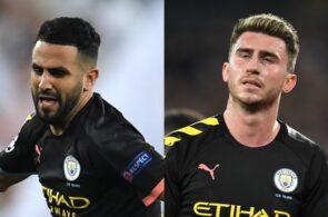 Riyad Mahrez & Aymeric Laporte - Manchester City
