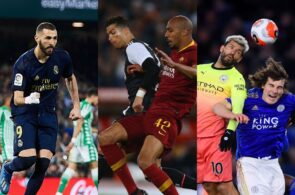 Real Madrid vs Real Betis, Juventus vs AS Roma, Manchester City vs Leicester City