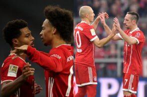 Serge Gnabry & Leroy Sane, Franck Ribery & Arjen Robben - Bayern Munich