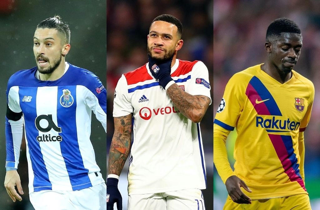 Saturday's transfer rumors - Lyon eye Depay swap deal with AC Milan