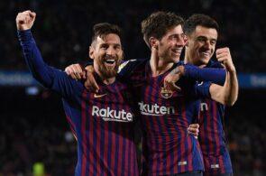 Sergi Roberto, Lionel Messi, FC Barcelona