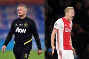 Ole Gunnar Solskjaer, Donny van de Beek, Manchester United