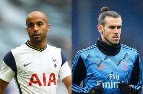 Lucas Moura, Gareth Bale, Tottenham