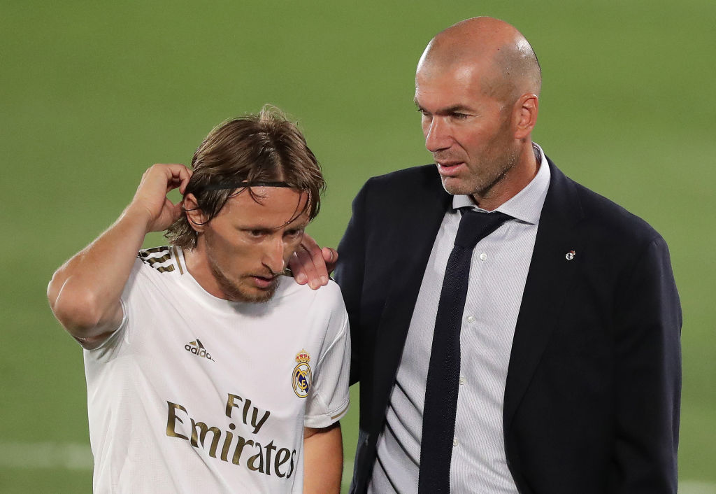 Modric Zidane Always Believed I Could Win The Ballon D Or