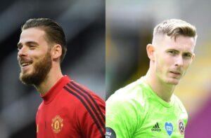David de Gea, Dean Henderson, Manchester United