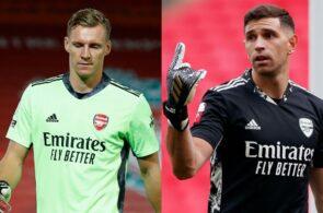 Bernd Leno, Emiliano Martinez, Arsenal