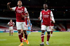 Eddie Nketiah, Pierre-Emerick Aubameyang, Arsenal