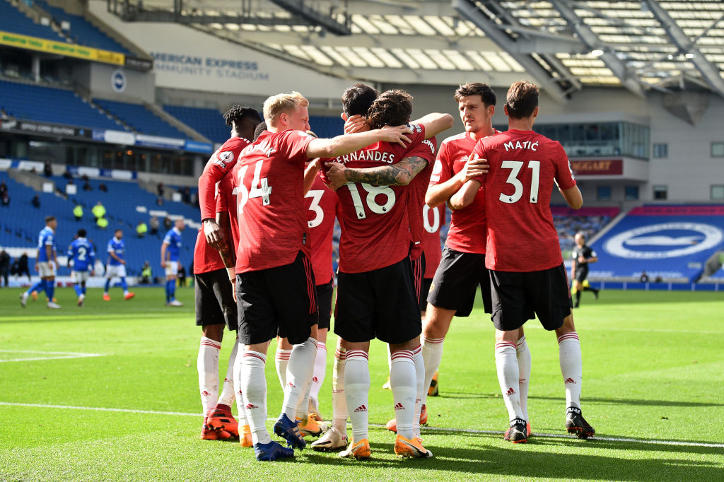 Brighton 2-3 Manchester United - Player Ratings