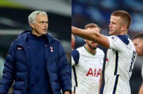 Jose Mourinho, Eric Dier, Tottenham
