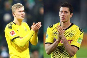 Erling Haaland, Robert Lewandowski, Borussia Dortmund