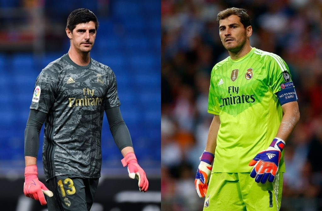 Thibaut Courtois, Iker Casillas, Real Madrid