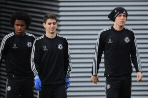 Willian, Oscar, David Luiz - Chelsea