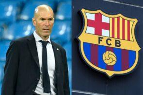 Zinedine Zidane, Real Madrid, FC Barcelona