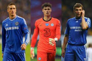 Fernando Torres, Kepa Arrizabalaga, Andriy Shevchenko, Chelsea