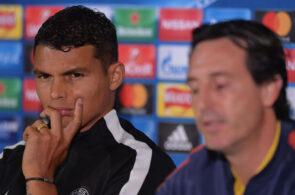 Thiago Silva, Unai Emery, PSG