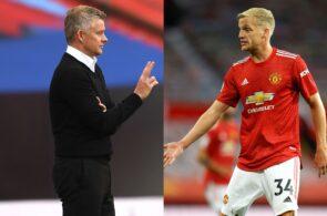 Ole Gunnar Solskjaer & Donny van de Beek - Manchester United