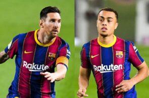 Lionel Messi & Sergino Dest - FC Barcelona