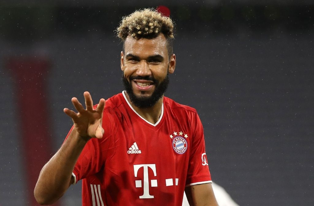 Choupo-Moting over the moon after making instant impact at Bayern