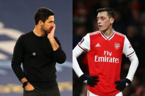 Mikel Arteta & Mesut Ozil - Arsenal
