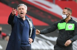 Carlo Ancelotti - Southampton vs Everton