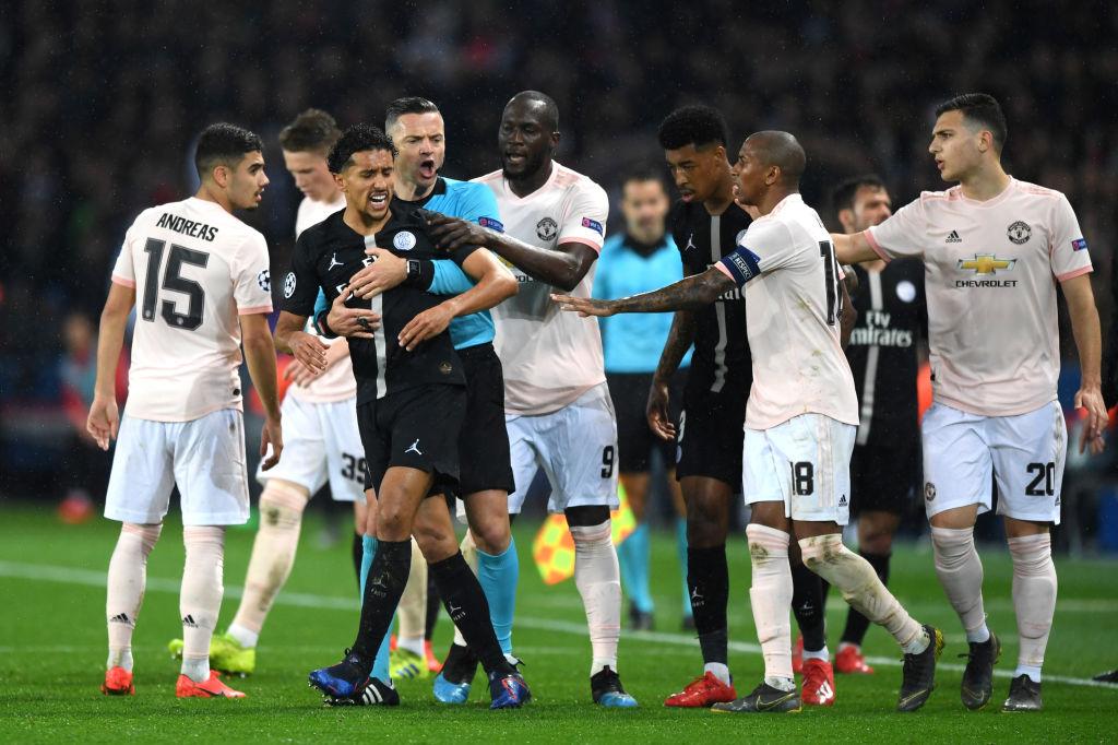 Marquinhos, PSG, Champions League, Manchester United