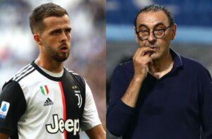 Miralem Pjanic, Maurizio Sarri, Juventus