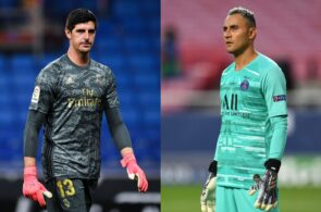 Thibaut Courtois, Keylor Navas, Real Madrid