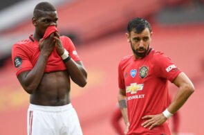 Paul Pogba, Bruno Fernandes, Manchester United