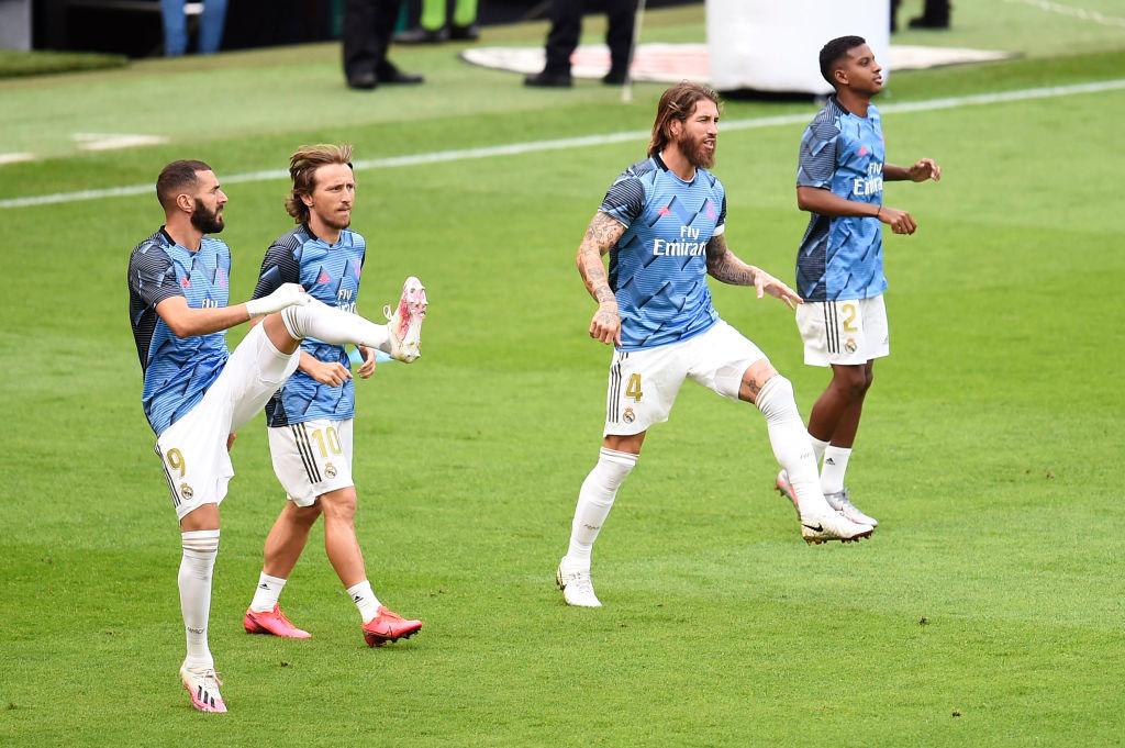 Real Madrid, Luka Modric, Karim Benzema