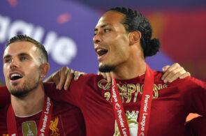 Jordan Henderson, Virgil van Dijk, Liverpool