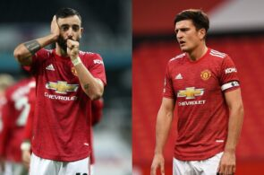 Bruno Fernandes, Harry Maguire, Manchester United