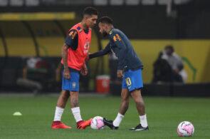 Neymar, Roberto Firmino, Brazil