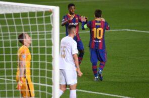 Ansu Fati, Lionel Messi, FC Barcelona