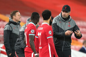 Jurgen Klopp, Mohamed Salah, Sadio Mane