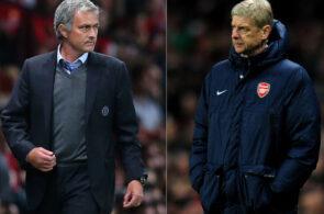 Mourinho, Wenger