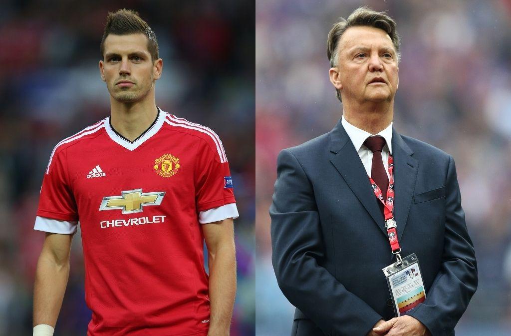Morgan Schneiderlin, Louis van Gaal, Manchester United