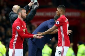 Marcus Rashford, Wayne Rooney, Manchester United