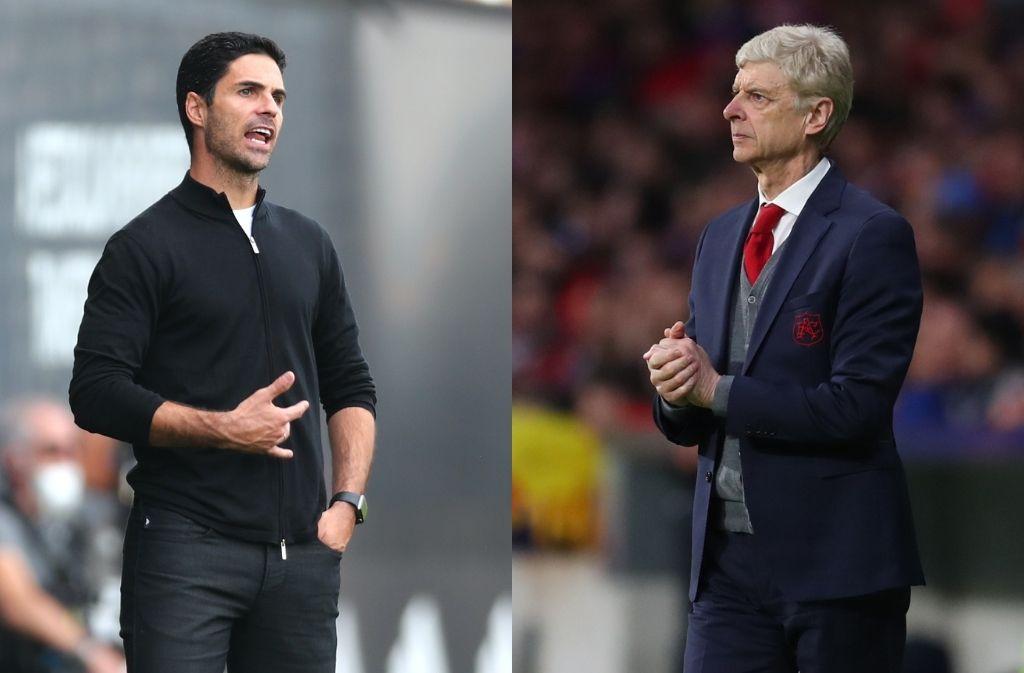 Mikel Arteta, Arsene Wenger, Arsenal