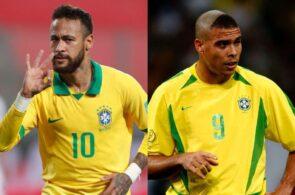 Neymar, Ronaldo Nazario, Brazil